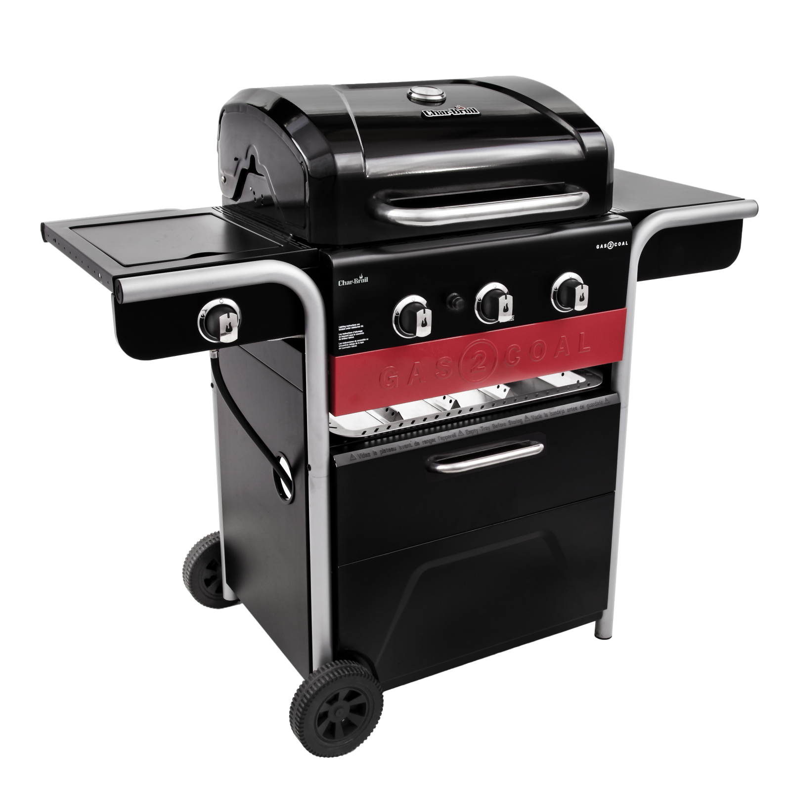 Gas2coal 3 Burner Hybrid Grill Char Broil