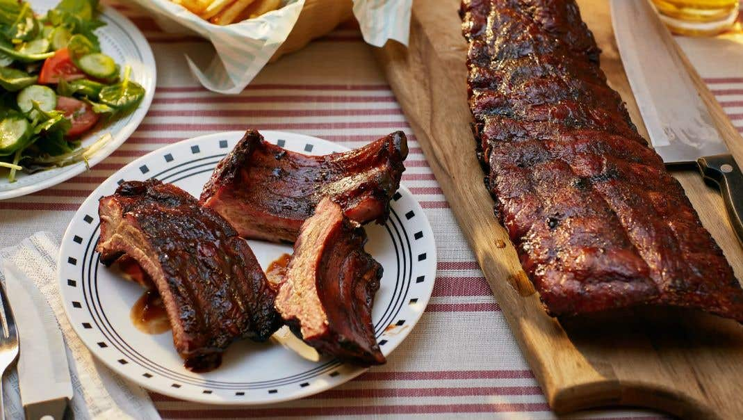 Beer Basted Baby Back Ribs Recipe