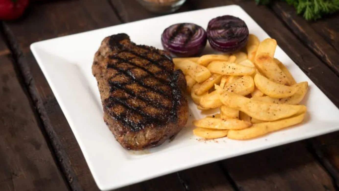 Coffee Rubbed Strip Steak
