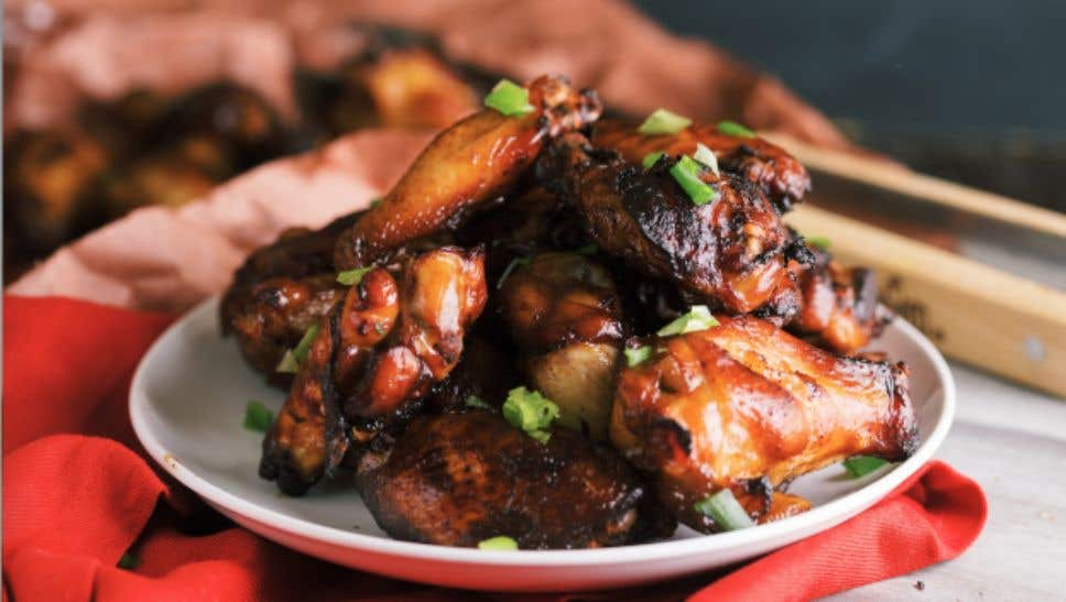 Five Spice Smoked Chicken Wings