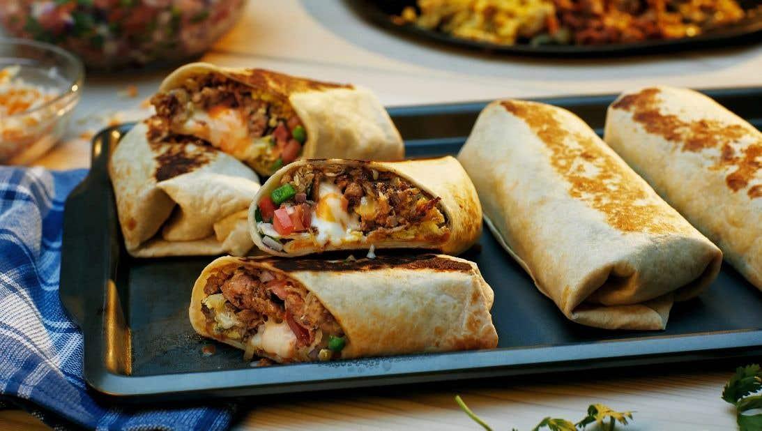 Grilled Breakfast Burrito Recipe