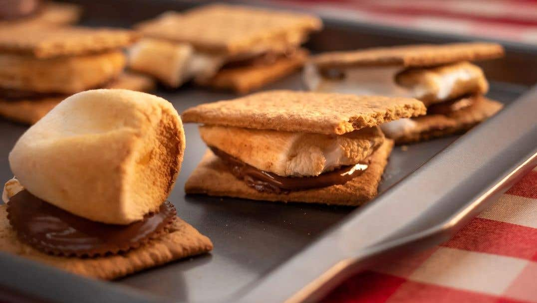 Grilled S'mores