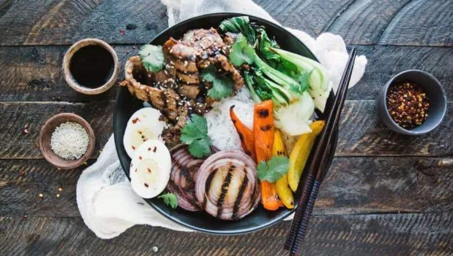 Grilled Beef Bulgogi Bowl