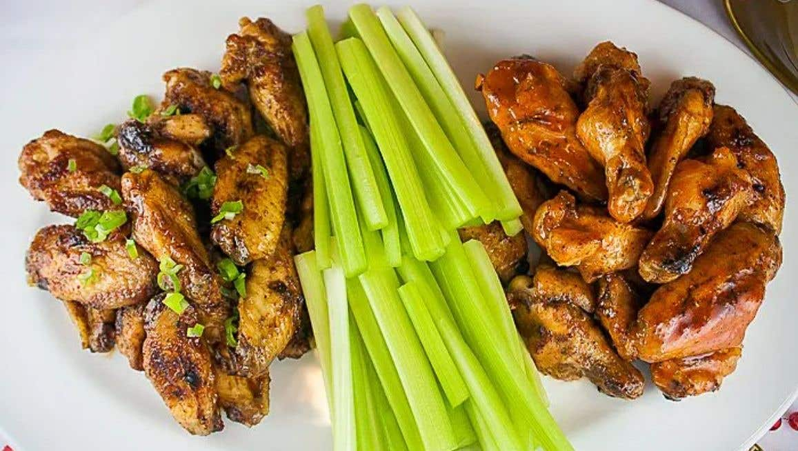 Grilling Wings on a Gas Grill