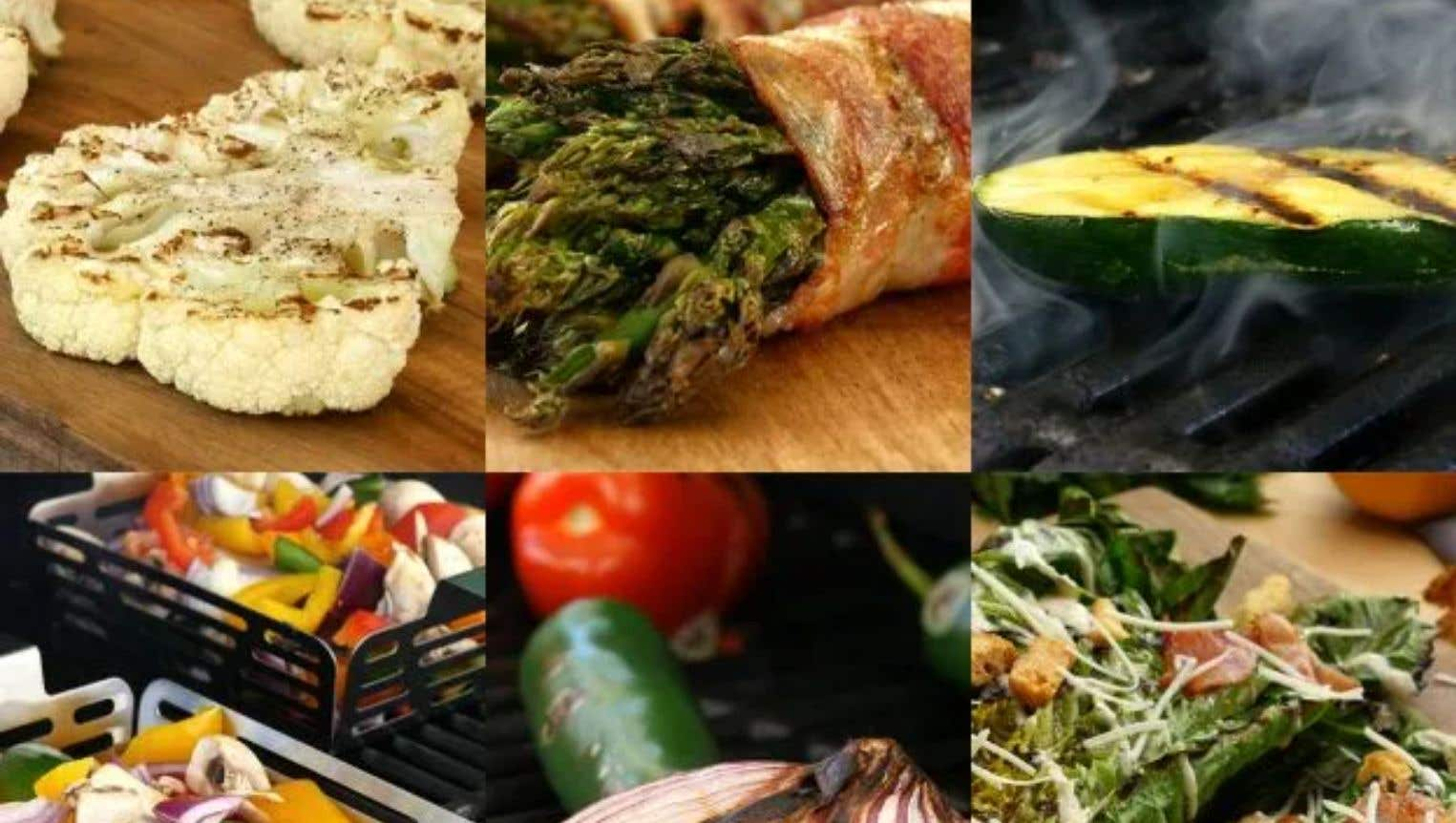 How to Grill Vegetables: 6-Ways