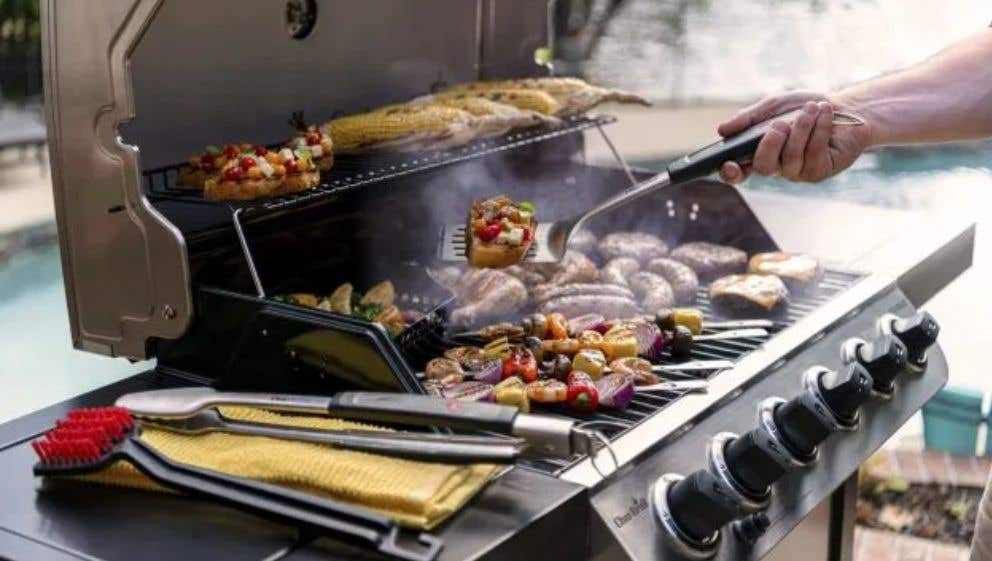 How to Prep a Gas Grill for First Use