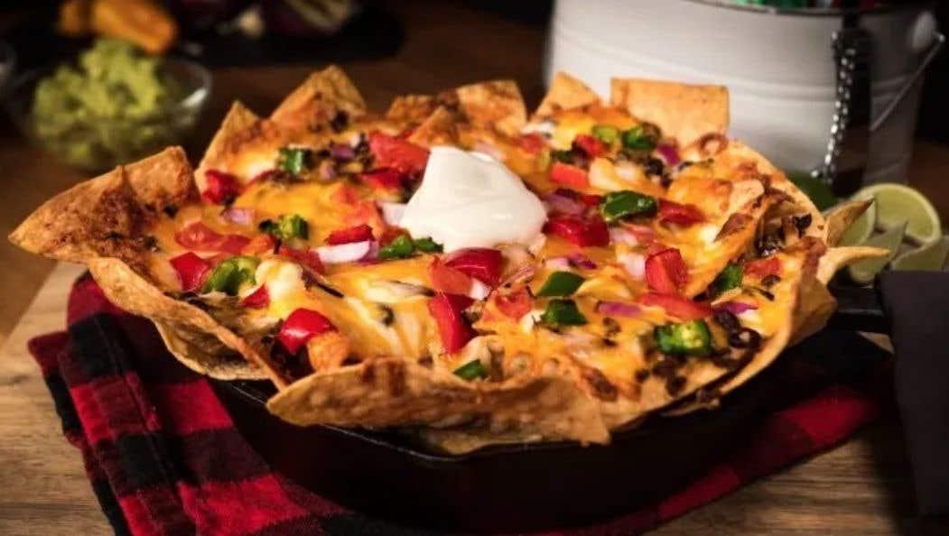 Ultimate Chili Cheese Nachos