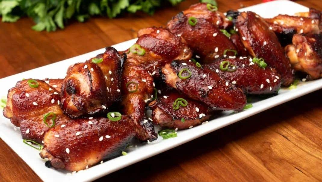 The Big Easy® Asian BBQ Chicken Wings