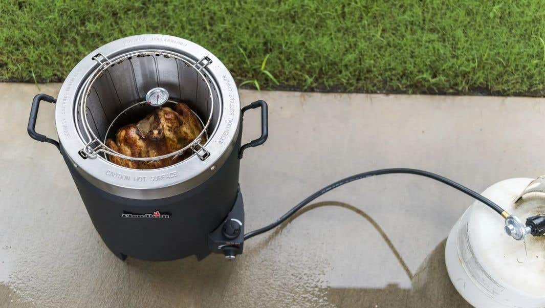 How Does The Big Easy® Turkey Fryer Work?
