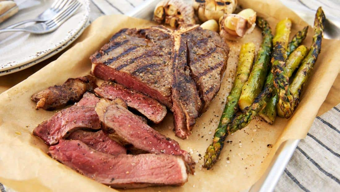 How To Grill A Medium Rare Steak On A Gas Grill Char Broil Char Broil